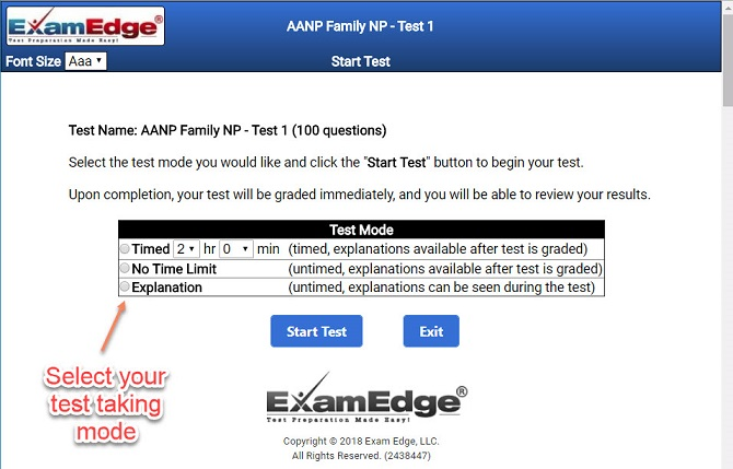 Practice certification tests exam prep examedge fandeluxe Images
