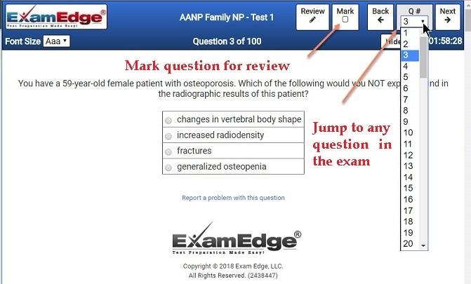 Practice certification tests exam prep examedge fandeluxe Image collections