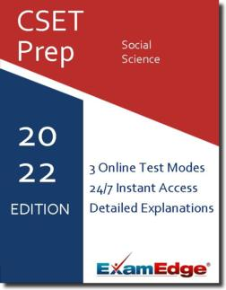 CSET Social Science Product Image
