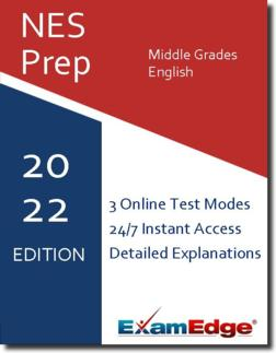 NES Middle Grades English  Product Image