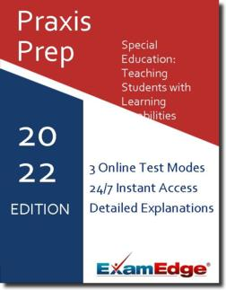 Praxis Special Education: Teaching Students with Learning Disabilities Product Image