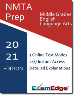 NMTA Middle Grades English Language Arts  Product Image