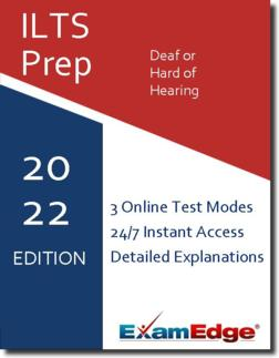 ILTS Deaf or Hard of Hearing  Product Image
