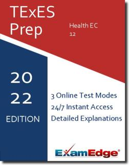 TExES Health EC-12 Product Image
