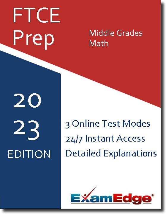 FTCE Middle Grades Mathematics 5-9 10-Test Bundle