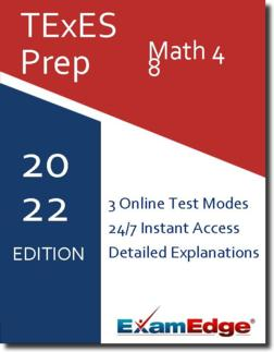 TExES Math 4-8 Product Image
